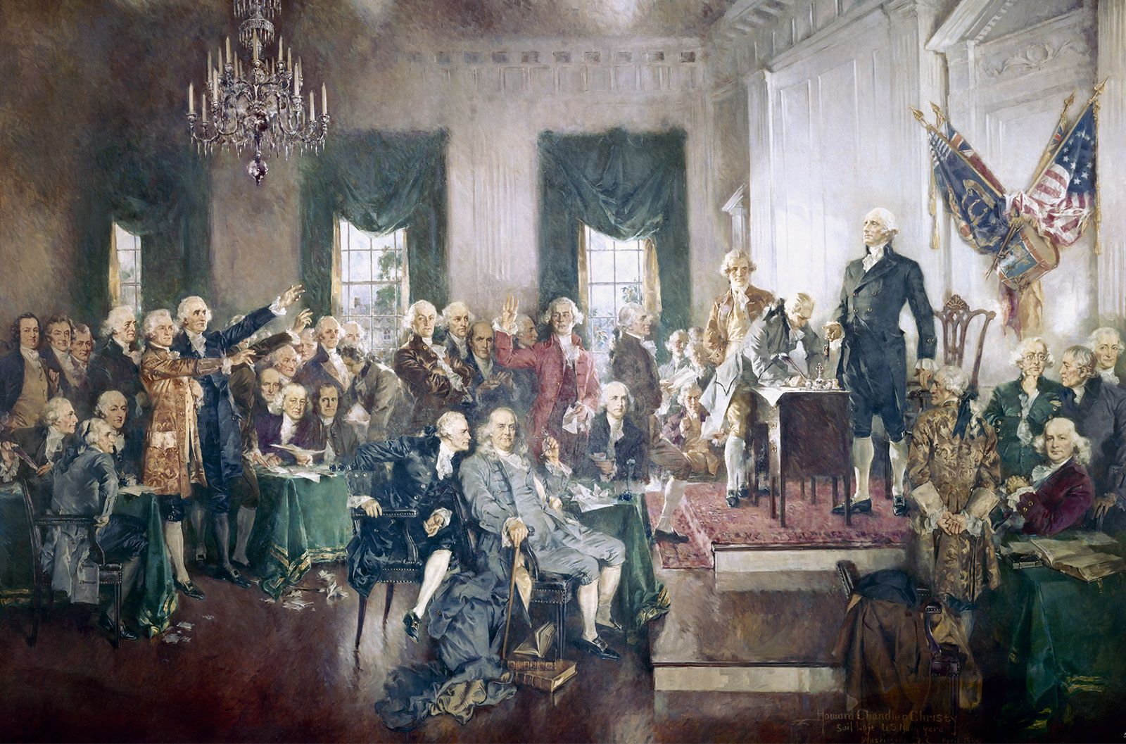 Continental Congress names the United States, Sept. 9, 1776